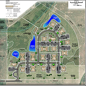 Lansing Trails Apartments Map