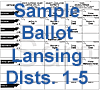 Dists 1-5 Ballot