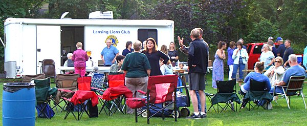 Lansing Lions Club Ice Cream Social