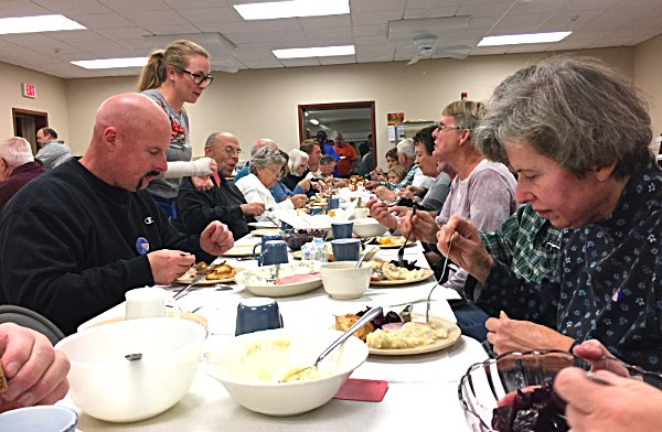 North Lansing Auxiliary Dinner and Supper