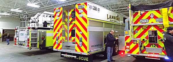 New Heavy Rescue Vehicle